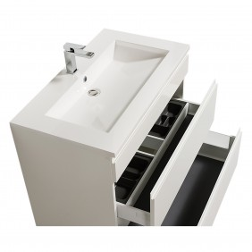Meuble de salle de bains reposant - Adele - 90 cm - 2 finitions BATHDESIGN