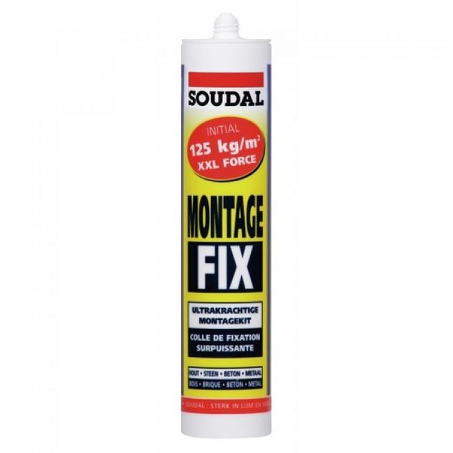 Colle acrylique - fixation surpuissante - 300 ml - Montage Fix SOUDAL