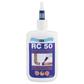 Résine anaérobie - raccordement cuivre ou laiton sans soudure - RC 50 GEB