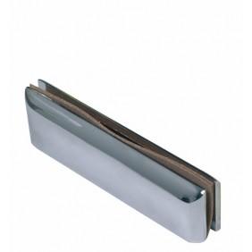 Penture basse pour pivot de sol TSA/TSP sur porte en verre SEVAX