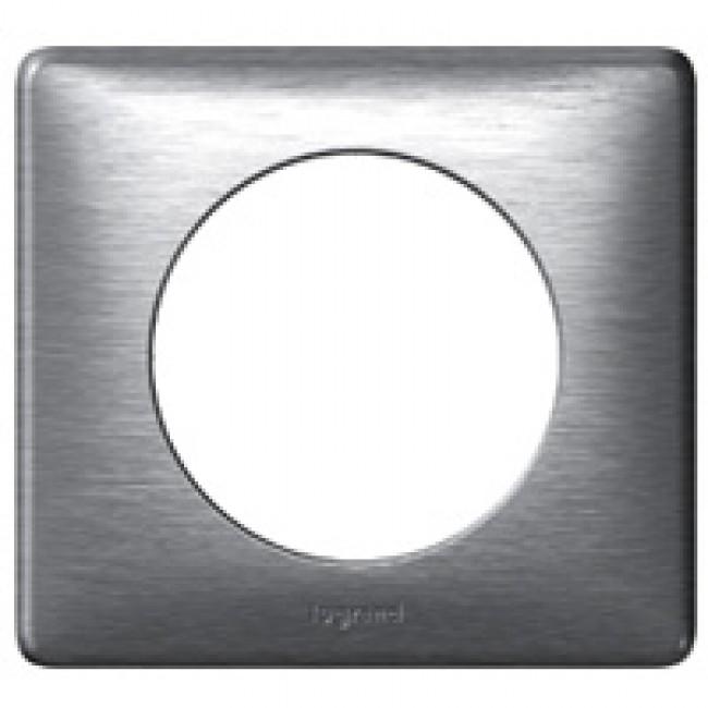 Plaque Céliane - 1 poste - Aluminium anodisé LEGRAND
