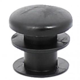 Embout en polyéthylène noir pour tube rond PERGA