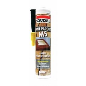 Mastic MS polymère pour parquet et pont de bateau SOUDAL