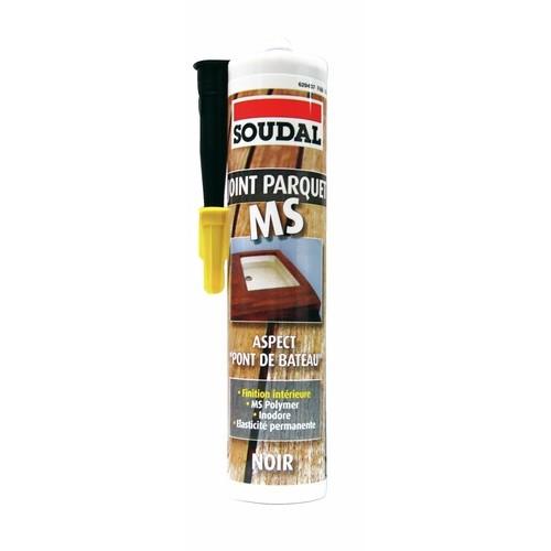 Mastic MS polymère pour parquet et pont de bateau