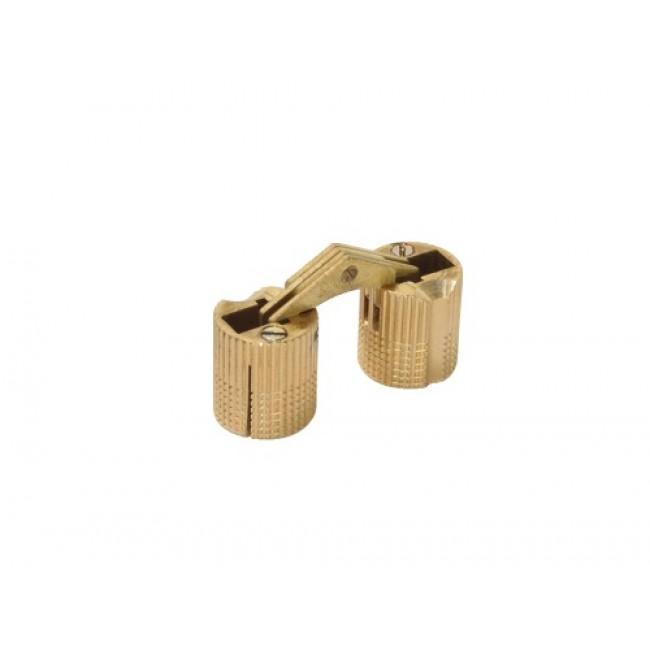 Charnière invisible spécifique cylindriques à encastrer 180° BRICOZOR