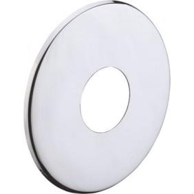 Rosace plate chromée - diamètre 62 mm HANSGROHE