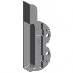 Embase support d'angle M6/4 pour mécanisme oscillo-battants bois FERCO