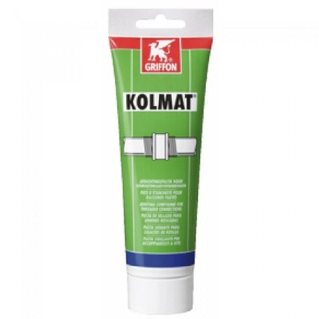 Pâte d'étanchéité Kolmat gaz et eau : tube 300 g GRIFFON