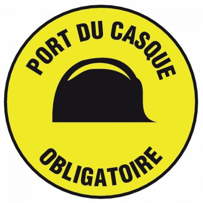 Disques rigides - Port du casque obligatoire NOVAP