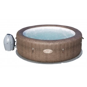 Spa gonflable rond 5/7 places - Lay-Z-Spa - St Moritz Air Jet + Accessoires BESTWAY