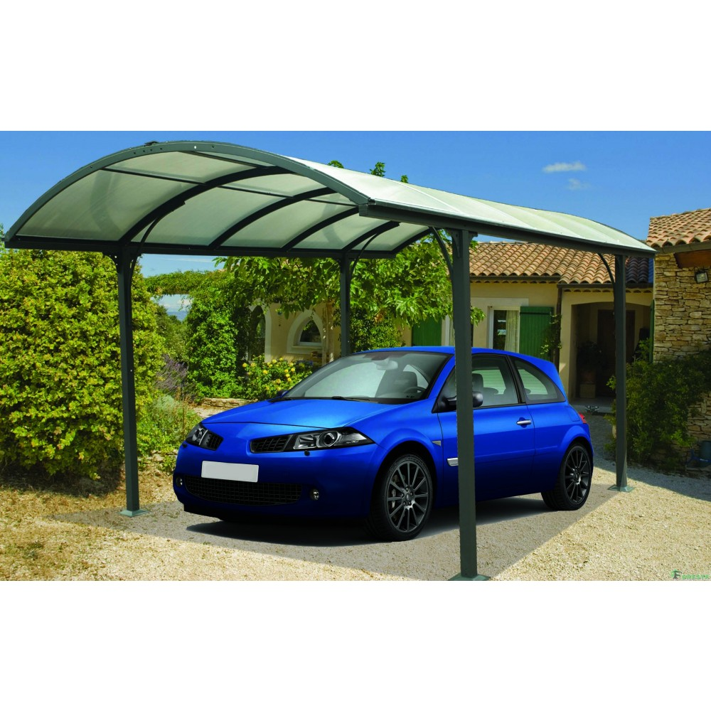 auvent aluminium pour 1 voiture 3 x 4 8 m car3048alrp. Black Bedroom Furniture Sets. Home Design Ideas