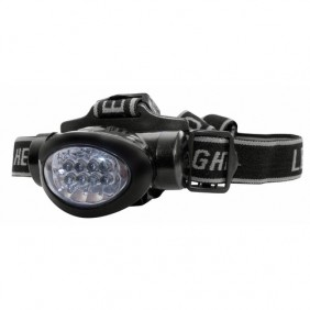 Lampe frontale - 8 LED - tête inclinable - Max 8