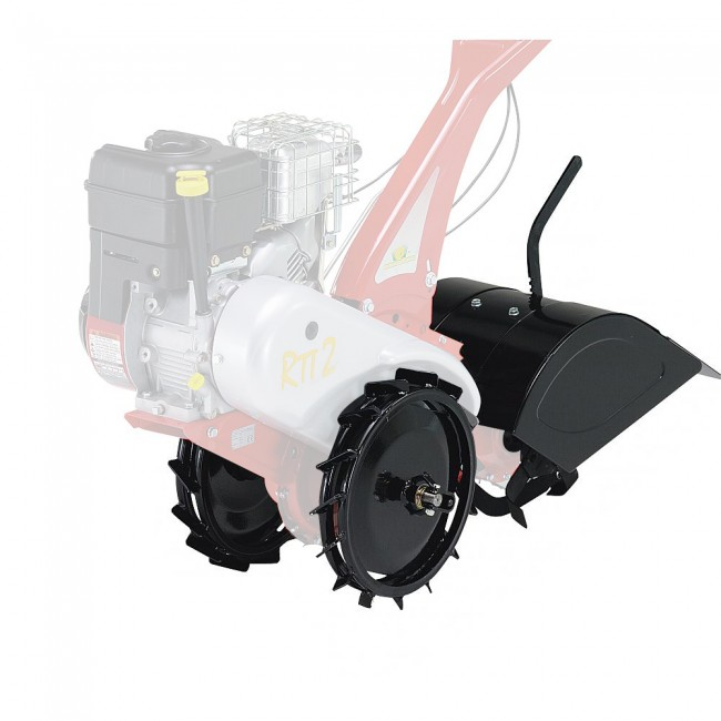 Kit fraises 32 cm et roues en fer pour motoculteur RTT EUROSYSTEMS