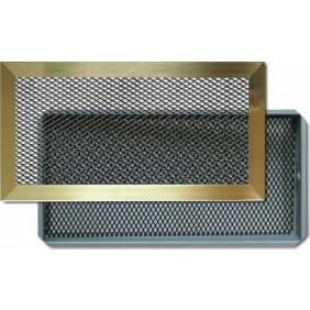 Grilles d 39 a ration de chemin e bricozor - Grille aeration insert cheminee ...