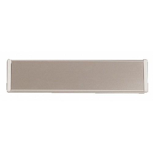 Entrées de boîtes aux lettres volet aluminium