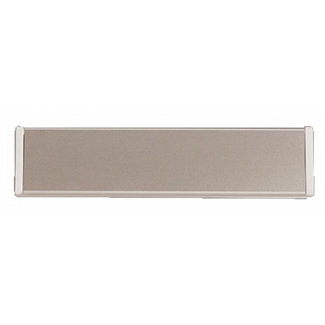 Entrées de boîtes aux lettres volet aluminium NORMBAU