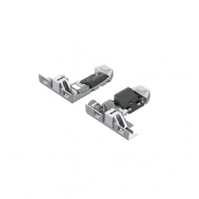 Kit clips pour coulisse Actro 5D Silent System HETTICH
