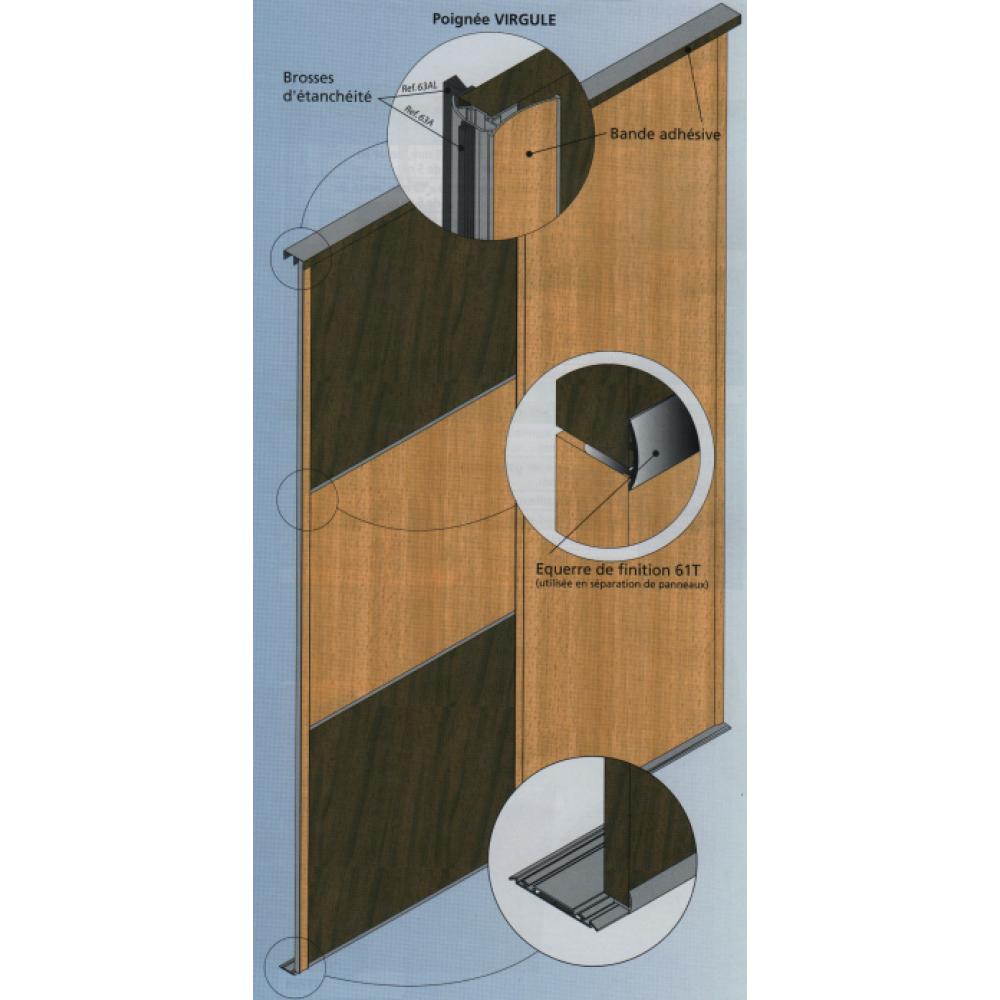 profil querre de finition picostar mantion bricozor. Black Bedroom Furniture Sets. Home Design Ideas