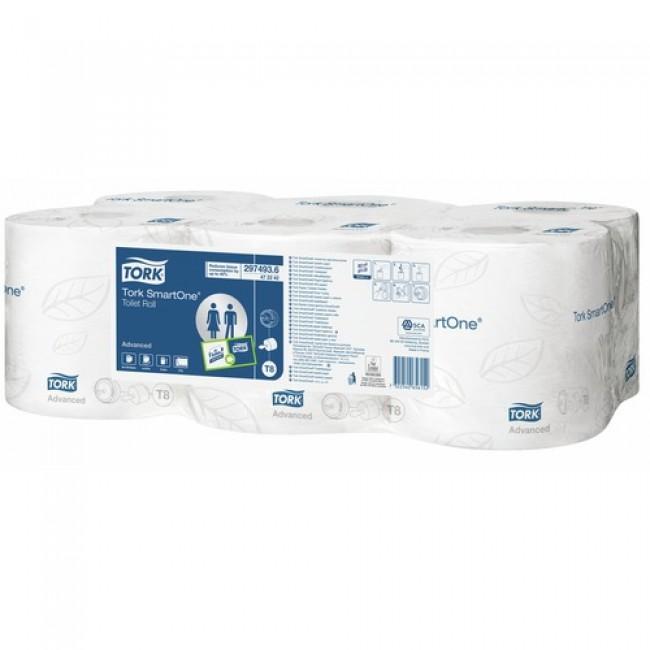 Papier toilettes - rouleau - distributeur Smart one TORK