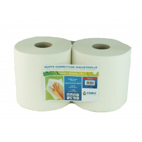 Bobines essuie-tout - ouate premium - 2 plis COBIC