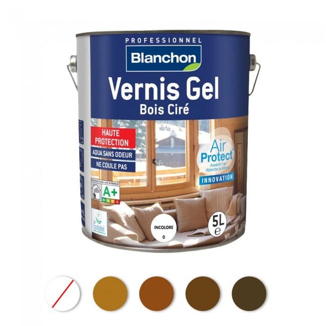 Vernis gel bois ciré - Air Protect® BLANCHON