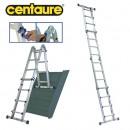 Echelle télescopique multi-positions - hauteur travail 4,8 m -Telescab'O