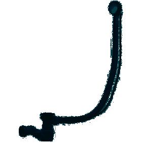 Vidage de baignoire - à câble - clapet en laiton - 1 M VALENTIN
