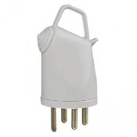 Fiche électrique Plexo mâle 32A IP 44 3P+T à poignée - 055855 LEGRAND