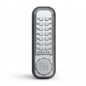 Serrure à code mécanique - pêne dormant en applique - 2200 UNITECNIC