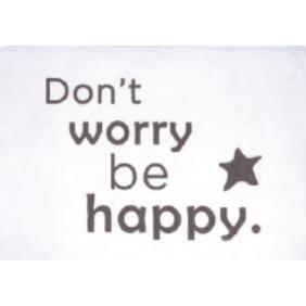 Tapis de bain - Home - don't worry be happy SPIRELLA