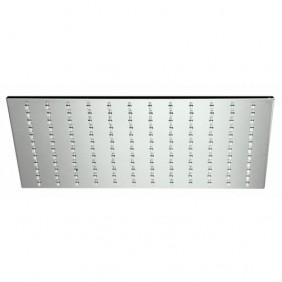 Pommeau de douche carré en métal chromé - 250 x 250 mm - Métal Slim ALPI SPA