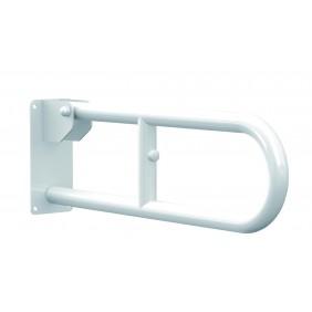 Barre d'appui rabattable - acier laqué blanc - différentes dimensions KDesign
