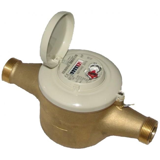 Compteur volumétrique laiton - DN25 SMARTEO WATER