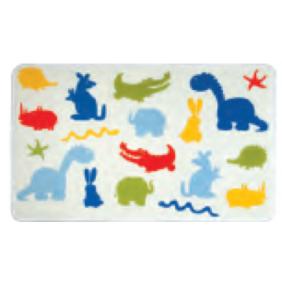 Tapis de bain - mémoire de forme - 45X75cm - Zoo SPIRELLA