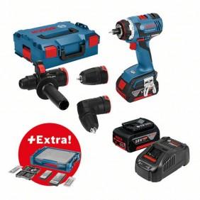 Perceuse visseuse sans fil GSR 18 V-EC FC2 + accessoires - 0615990K1T BOSCH