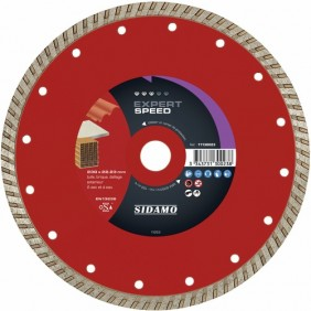 Disque diamant - jante continue cannelée - Expert Speed SIDAMO