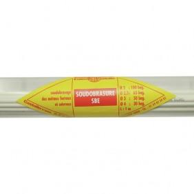 Baguette métal d'apport SBE Brox - pour soudure - 1 mètre CASTOLIN
