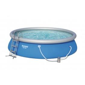 Piscine autoportée ronde - 457x107cm - Fast Set Pools + Accessoires BESTWAY