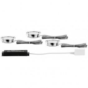 Kit 3 spots - orientable - Micro Line - LED - 4,2 W PAULMANN