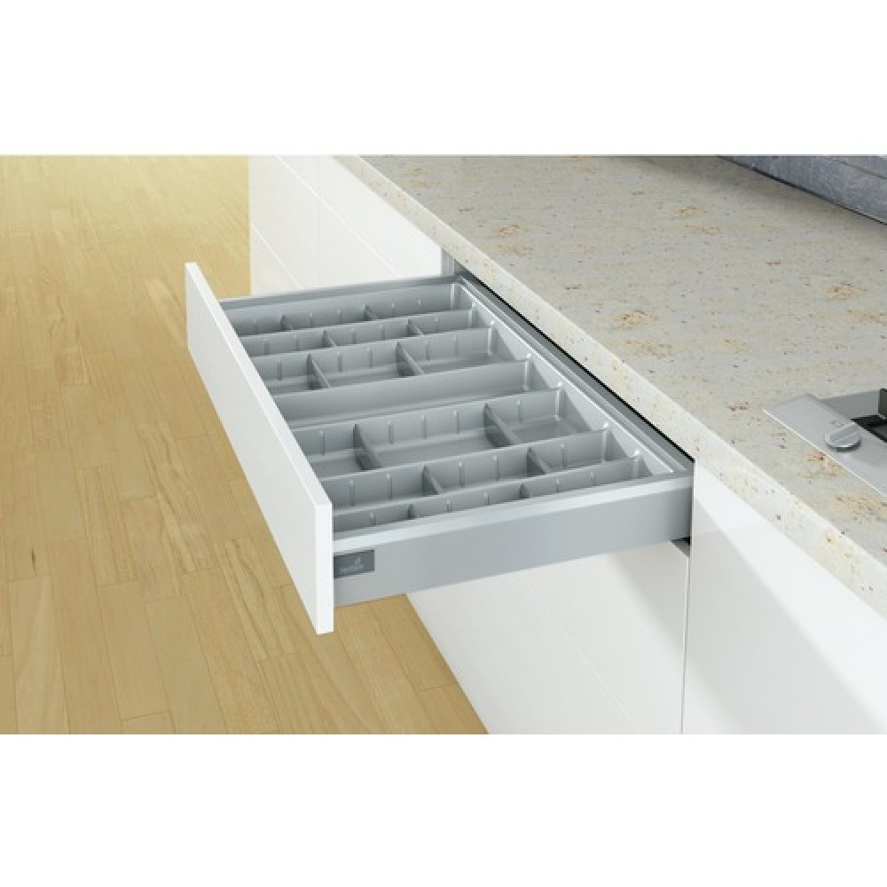 Range couverts orgatray 570 pour tiroir arcitech hettich bricozor - Range couverts pour tiroir ...