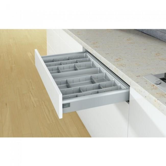 range couverts orgatray 570 pour tiroir arcitech hettich bricozor. Black Bedroom Furniture Sets. Home Design Ideas