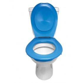 Lunette + abattant WC clipsable - 9 couleurs PAPADO