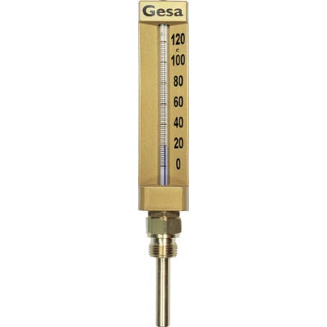 Thermomètre industriel à capillaire optique grossissant DISTRILABO