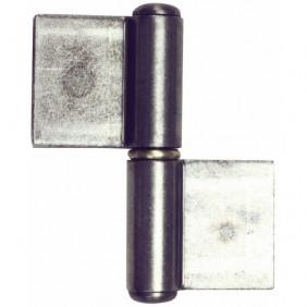 Paumelle à souder - nœuds ronds - lames doublées déportées - GRD FAURE