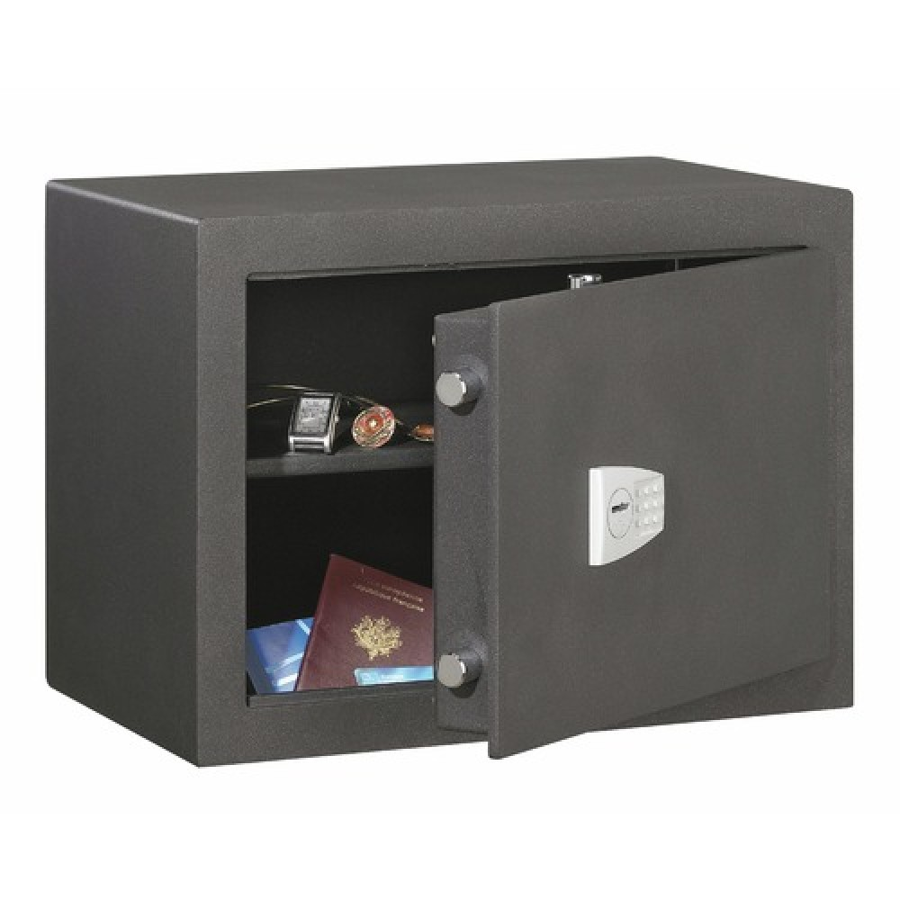 coffre fort poser cl 13 litres bastion decayeux bricozor. Black Bedroom Furniture Sets. Home Design Ideas