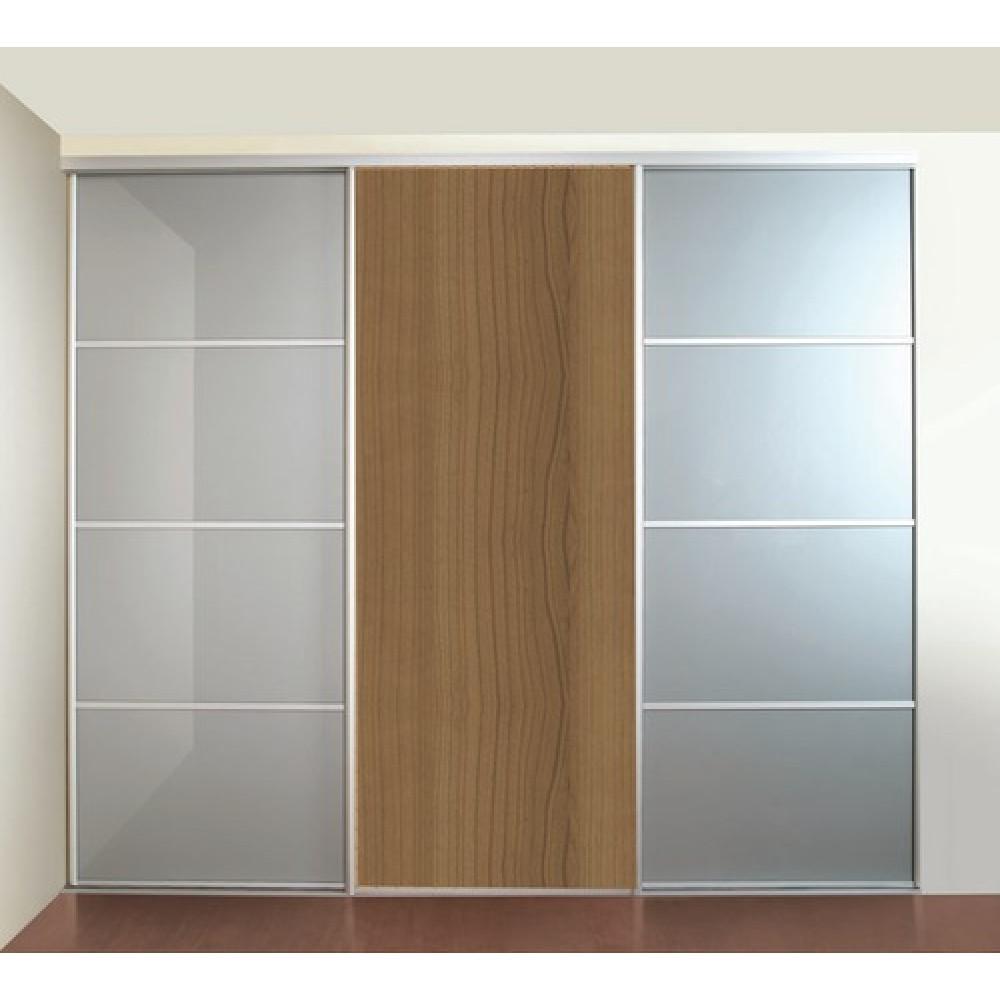 rail bas pour porte coulissante p300 19 seed bricozor. Black Bedroom Furniture Sets. Home Design Ideas