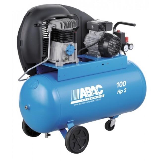 Compresseur d'air à piston - 100 litres - 1500 W - A29 100 CM2 ABAC