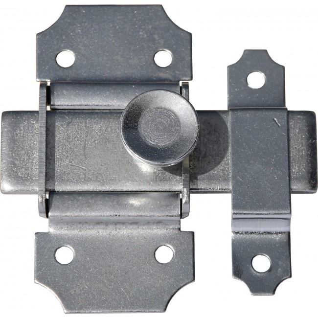Targette coulissante à pêne plat en acier - DRR ABUS