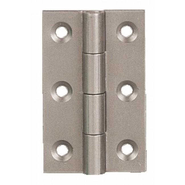 Charnière rectangulaire forte en acier décapé - double feuille BRICOZOR