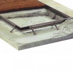 Profil pour cadre de paillasson tapis-brosse DINAC